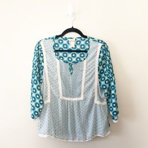 Matilda Jane Hello Lovely Kaleidoscope Print Top